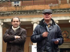 Strazzullo e Gramolati-manifestazione 12 marzo 2010