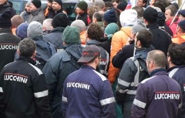 """Ex Lucchini: Tfr in arrivo a gennaio. Fiom """"Inaccettabile ostacolo della burocrazia"""""""