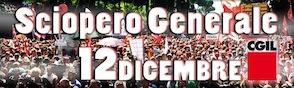 sciopero 12 dicembre