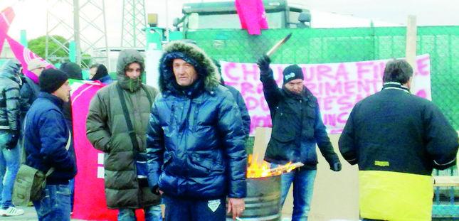 foto sciopero autosped container livorno