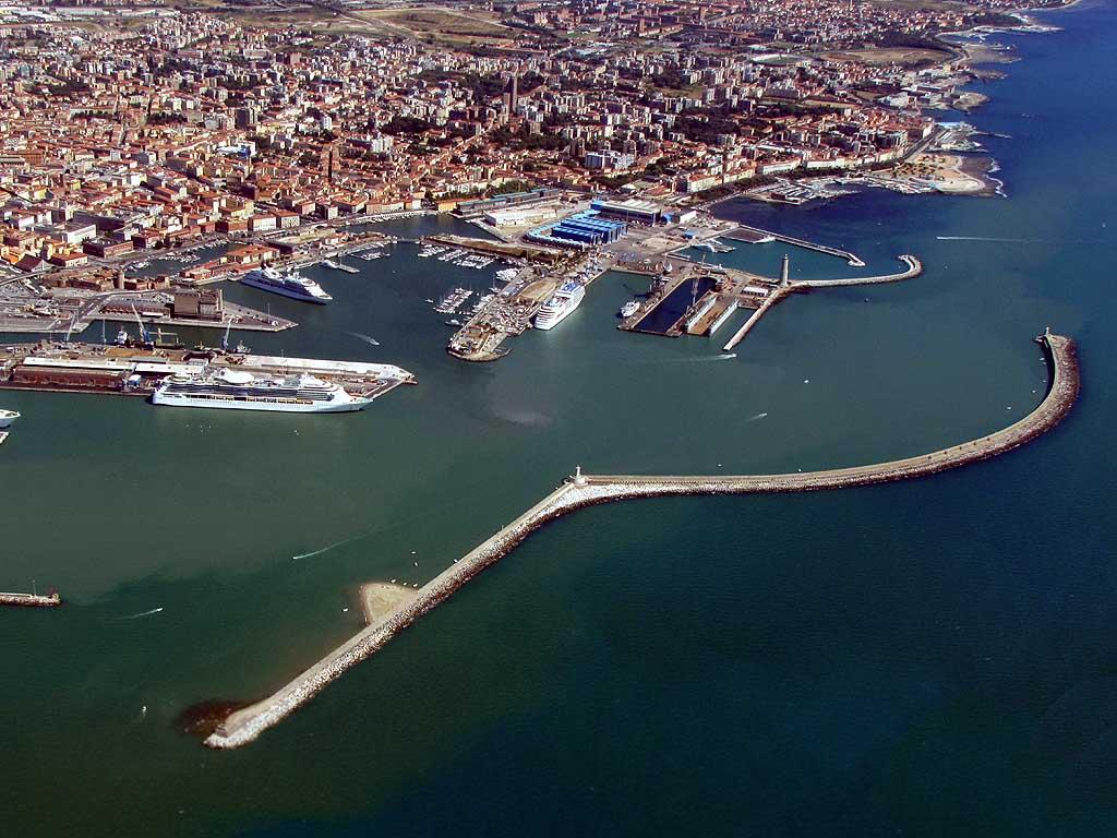 livorno panoramica porto