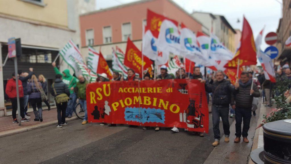 sciopero Aferpi fe17
