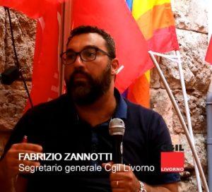 """Appalti, contratti pirata, dumping salariale, algoritmi e sfruttamento, legge sulla rappresentanza: il video dell'intervento di Zannotti alla festa di """"sinistra Italiana"""""""