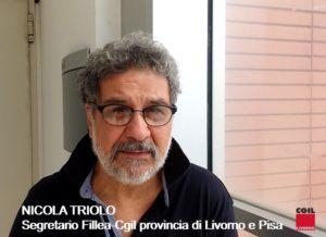 Fillea-Cgil provincia di Livorno e Pisa, cambio di guardia al vertice: Giovanni Ferrari subentra al posto di Nicola Triolo