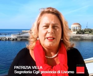 """Congresso Cgil provincia di Livorno, le parole di Patrizia Villa: """"Rispettare la dignità dei lavoratori e garantire la loro sicurezza"""""""