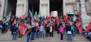 """Lavoratori ex Lsu e Appalti storici, dopo la manifestazione a Roma fissato un nuovo incontro al ministero. Fraddanni: """"Risultato importante"""""""