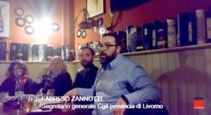 """""""Livorno, fondamentale lo sviluppo di collegamenti viari e ferroviari. L'intervento del segretario generale Fabrizio Zannotti all'iniziativa """"Europa del lavoro e dell'ambiente"""""""