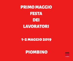 Festa dei lavoratori 2019: 1-2 maggio a Piombino (Rivellino) esposizione di scritte e foto sulle leggi razziali e dibattito su decreto sicurezza e immigrazione