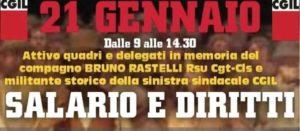 """MARTEDI' 21 GENNAIO A LIVORNO, DALLE 9 ALLE 14.30, """"SALARIO E DIRITTI"""": INIZIATIVA PROMOSSA DALLA SINISTRA SINDACALE CGIL"""
