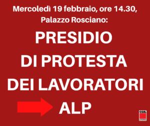 """PORTO, MERCOLEDI' PRESIDIO DI PROTESTA DEI LAVORATORI ALP. GUCCIARDO (FILT-CGIL): """"CON IL RINVIO A GIUDIZIO DEI VERTICI DELL'AUTHORITY TEMIAMO L'IMMOBILISMO"""""""