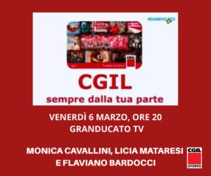 🔴 VENERDÌ 6 MARZO, ORE 20: A GRANDUCATO TV MONICA CAVALLINI, LICIA MATARESI E FLAVIANO BARDOCCI