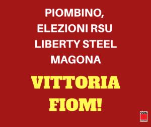 ELEZIONI RSU LIBERTY STEEL MAGONA, VITTORIA DELLA FIOM