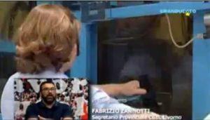 CORONAVIRUS E SICUREZZA DEI LAVORATORI, L'INTERVISTA DI GRANDUCATO TV A FABRIZIO ZANNOTTI (VIDEO)
