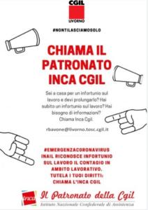 CHIAMA IL PATRONATO INCA! #NONTILASCIAMOSOLO