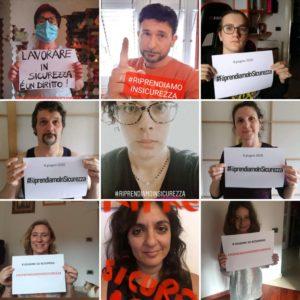 SCIOPERO GENERALE DELLA SCUOLA, #RIPRENDIAMOINSICUREZZA: IL SOCIAL FLASH-MOB DEL PERSONALE SCOLASTICO DELLA PROVINCIA LIVORNESE