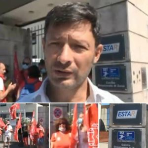 """LAVORATRICI CUPTEL ASL, STAMANI NUOVO PRESIDIO DI PROTESTA: """"NOSTRE RICHIESTE ANCORA INASCOLTATE"""""""