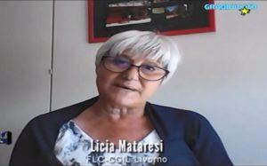 RIAPERTURA IN SICUREZZA DELLE SCUOLE, LICIA MATARESI (FLC-CGIL) INTERVISTATA DA GRANDUCATO TV (VIDEO)