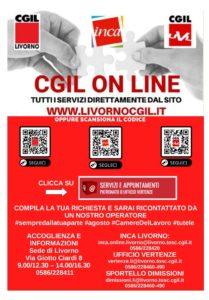 CGIL ON LINE: TUTTI I SERVIZI DIRETTAMENTE DAL SITO LIVORNOCGIL.IT!
