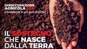 DISOCCUPAZIONE AGRICOLA 2021, CHIEDERLA E' UN TUO DIRITTO! CONTATTA LA FLAI-CGIL