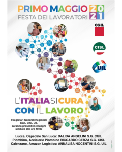 """1 MAGGIO, FESTA DEI LAVORATORI: """"L'ITALIA SI CURA CON IL LAVORO"""". GLI APPUNTAMENTI IN TOSCANA"""