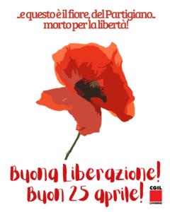 """""""…E QUESTO E' IL FIORE, DEL PARTIGIANO… MORTO PER LA LIBERTA'!"""". BUON 25 APRILE!"""