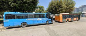 CAPOLINEA BUS IN PIAZZA DELLA LIBERTA' A CECINA, SITUAZIONE DI GRAVE PERICOLOSITA' PER IL PERSONALE CTT-NORD