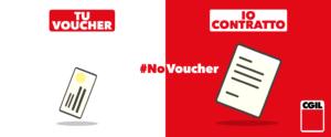 """No ai Voucher. Appello della Cgil nazionale ai parlamentari: """"State dalla parta giusta. State dalla parte delle lavoratrici e dei lavoratori"""""""