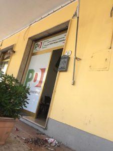 """Bandiera bruciata, solidarietà della Cgil al Pd di Rosignano. Zannotti: """"Chi cerca di soffocare un'idea politica è nemico della democrazia"""""""