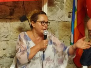 """Sanità pubblica, ospedale, case della salute, liste d'attesa: l'intervento di Monica Cavallini alla festa di """"Sinistra Italiana"""""""