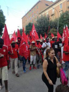 Delegazione Flai-Cgil Livorno a Foggia per dire stop al caporalato e allo sfruttamento del lavoro nei campi