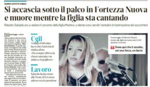 """""""Coraggio, coerenza, cultura, valori: addio compagno Roberto"""". Beppe Luongo, ex segretario Slc-Cgil Livorno, ricorda Roberto Salsedo"""