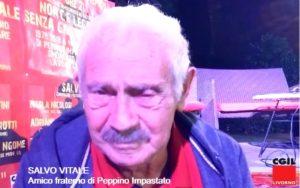 """""""Peppino Impastato era un ribelle autentico"""". Salvo Vitale a Livorno ricorda l'amico fraterno. Tra lotta alla mafia e aneddoti."""