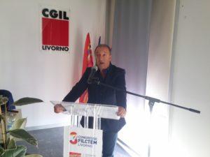 """Fabrizio Musto lascia la guida della Filctem-Cgil dopo 8 anni: """"Felice e orgoglioso di aver fatto parte di questa famiglia"""""""