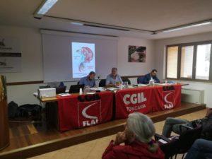 Michele Rossi, segretario provinciale uscente Flai-Cgil Livorno, è stato confermato alla guida della categoria