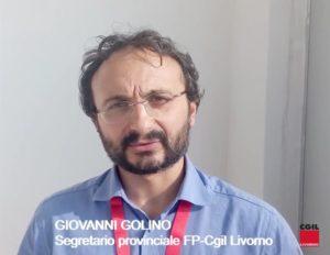 Congresso Fp-Cgil provincia di Livorno: Giovanni Golino confermato alla guida della categoria. In segreteria Scalabrini, Anselmi, Carmignani e Damiani