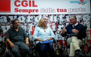 Crisi dell'edilizia, recupero urbano, questione abitativa: Patrizia Villa (Sunia) e Nicola Triolo (Fillea) intervistati a GranducatoTv da Piero Giorgetti