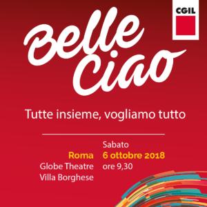 "Donne: Cgil, 6 ottobre Assemblea nazionale ""Belle Ciao"" con Susanna Camusso"