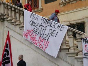 Bando rsa Pascoli e Villa Serena, i sindacati esprimono grande preoccupazione