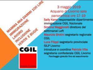 """Immigrazione, inclusione e lavoro: """"Mamma mia dammi 100 lire"""". Dibattito il prossimo 3 maggio presso l'Acquario di Livorno. Coordina Patrizia Villa"""