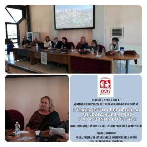 """Parità di genere e politiche del lavoro, tavola rotonda a Rosignano. Patrizia Villa: """"Donne ancora penalizzate"""""""