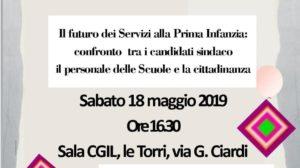 Comune di Livorno, futuro dei servizi alla prima infanzia: sabato 18 maggio alle ore 16.30 confronto con i candidati a sindaco