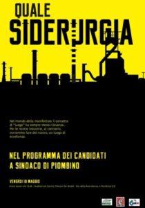 Quale siderurgia? Venerdì 10 maggio a Piombino l'iniziativa di Fiom, Fim e Uil con i candidati a sindaco