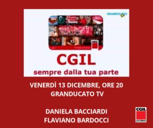 VENERDÌ 13 DICEMBRE, ORE 20: A GRANDUCATO TV DANIELA BACCIARDI E FLAVIANO BARDOCCI