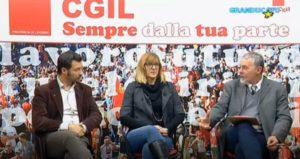 """""""CGIL SEMPRE DALLA TUA PARTE"""": A GRANDUCATO TV DANIELA BACCIARDI E FLAVIANO BARDOCCI (VIDEO)"""