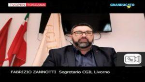 CORONAVIRUS, SALUTE DEI LAVORATORI, AMMORTIZZATORI SOCIALI: L'INTERVISTA IN DIRETTA DI GRANDUCATO TV A FABRIZIO ZANNOTTI (VIDEO)