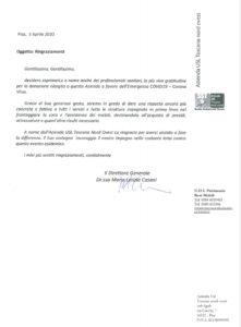 EMERGENZA COVID-19, LA FILCAMS-CGIL HA DONATO 2MILA EURO AGLI OSPEDALI DI LIVORNO, CECINA, PIOMBINO E PORTOFERRAIO