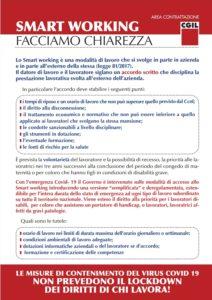 SMART WORKING, FACCIAMO CHIAREZZA: NO AL LOCKDOWN DEI DIRITTI DI CHI LAVORA!