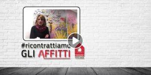 """""""RICONTRATTIAMO GLI AFFITTI"""", LA MOBILITAZIONE DI CGIL E SUNIA TOSCANA (VIDEO)."""