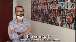 PORTO DI LIVORNO, CASSA INTEGRAZIONE IN TDT: L'INTERVENTO DI GIUSEPPE GUCCIARDO A GRANDUCATO TV