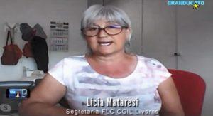 SCUOLA, L'INTERVISTA DI GRANDUCATO TV A LICIA MATARESI, SEGRETARIA GENERALE FLC-CGIL PROVINCIA DI LIVORNO (VIDEO)